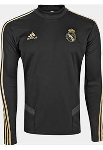 Blusa Real Madrid Treino Adidas Masculina - Masculino
