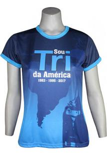 Camiseta Feminina Sou Tri Da América