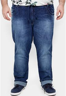 Calça Jeans Skinny Biotipo Stone Plus Size Masculina - Masculino