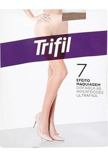 Meia-Calça Trifil Invisível Fio 7 - Feminino-Bege