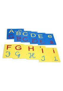 Varal De Letras Do Alfabeto 4 Em 1 Com 26 Placas