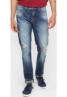 Calça Jeans Triton Reta Índigo Masculina - Masculino