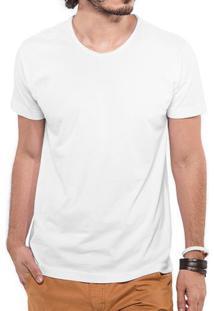 Camiseta Branca Gola Rasgada 103270