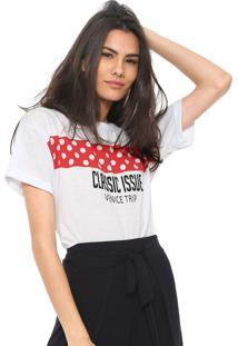 Camiseta Fiveblu Classic Issue Branca