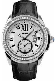 Relógio Skmei Analógico 1147 - Feminino-Preto