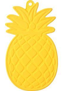Pegador De Panelas Abacaxi- Amarelo- 1X21,5X10Cmquadrifoglio
