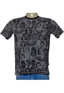 7079383a5 ... Camiseta Masc Cavalera Clothing 01.01.9220 Mescla