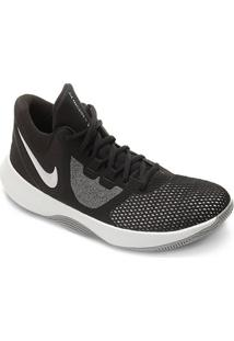 Tênis Nike Air Precision Ii Masculino - Masculino-Preto+Branco