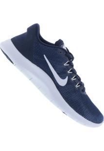 Tênis Nike Flex 2018 Rn - Masculino - Azul Esc/Branco