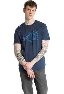 Camiseta Levis Graphic Set-In Neck Azul Marinho