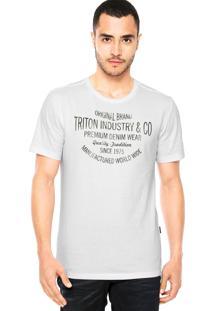 Camiseta Triton Original Branca