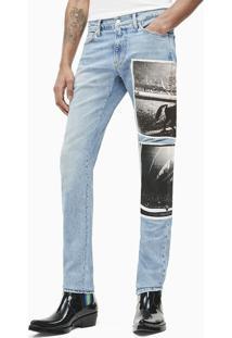 Calça Jeans Ckj Masc Andy Warhol Rodeo - Azul Claro - 38