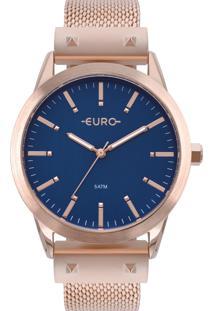 Relógio Euro Feminino Metal Glam Eu2035Yom/4A