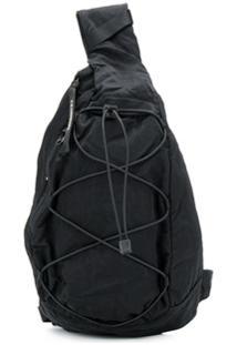 Cp Company Nylon Sling Bag - Preto