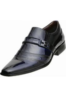 Sapato Social Gofer - Masculino-Azul