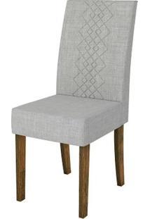 Cadeira Olímpia 2 Peças - Demolição Com Linho Claro