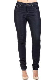 Calça Jeans Skinny Pespontos Alta Alphorria A.Cult - Feminino-Azul