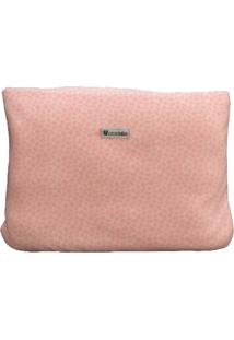 Cobertor Almofada Estampa Rosa - Tricae