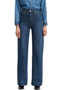 Calça Jeans Levis Ribcage Wide Leg - 26X34