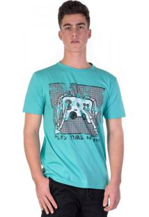 Camiseta Verde Play Time Gang Over