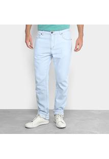 Calça Jeans Foxton Lavagem Clara Masculina - Masculino