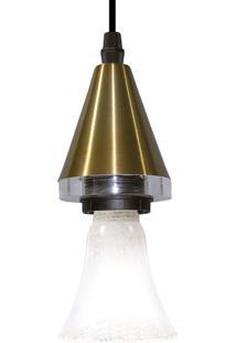 Pendente Horus Cone 25W-Taschibra - Ouro
