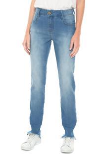 f13f5e552 ... Calça Jeans Coca-Cola Jeans Skinny Five Pockets Azul