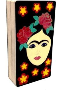 Bolsa Clutch Frida Flowers