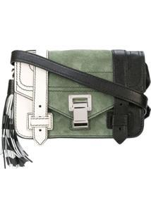 Proenza Schouler Bolsa Ps1+ Mini Color Block - Branco