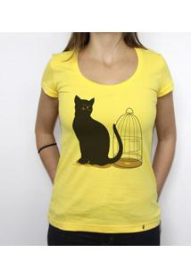 The Cat - Camiseta Clássica Feminina