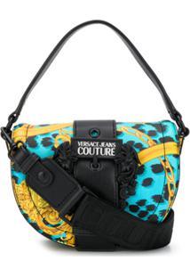 Versace Jeans Couture Animal Baroque Print Shoulder Bag - Azul
