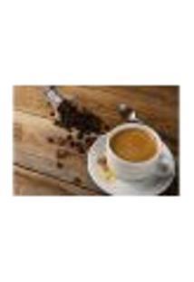 Painel Adesivo De Parede - Café - Lanchonete - 740Pnp
