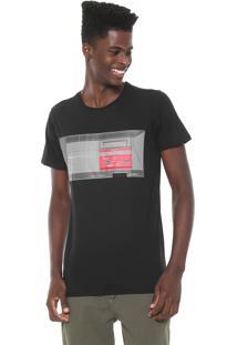 Camiseta Tectoy Master System Sega Console Preta