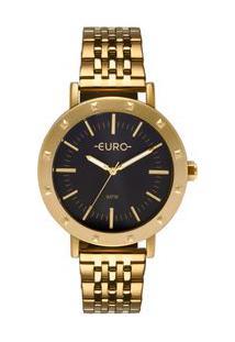 Relógio Euro Spike Fever Feminino Dourado Eu2035Ypi/4P Eu2035Ypi/4P