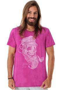 Camiseta Maresia Captain Skull - Masculino