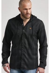 Camisa Check Oversized Hoodie
