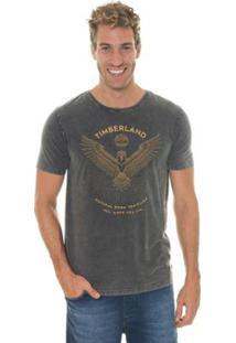 Camiseta Timberland Natural Born Masculina - Masculino-Cinza