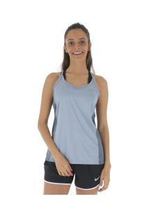... Camiseta Regata Nike Dry Miler - Feminina - Azul bc1a62e5f89b8