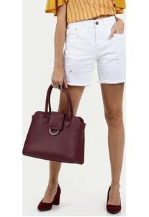 Bermuda Feminina Jeans Puídos Marisa