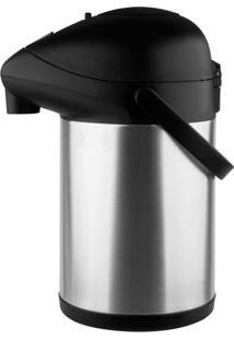 Garrafa Térmica Aço-Inox Pressão Trix 3,5L Termopro