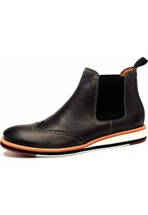 Bota The Box Project Union Carbono Masculina - Masculino-Preto