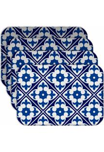 Jogo Americano Love Decor Wevans Ladrilho Morderno Kit Com 4 Peã§As. - Multicolorido - Dafiti