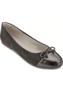 Sapatilha Angela Shoes Sense Feminina - Feminino-Cinza