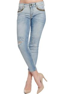 Calça Jeans Pedraria Katy Colcci