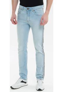 Calça Jeans Five Pockets Ckj 026 Slim - Azul Claro - 38