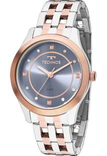 Relógio Technos Trend Feminino 2036Mfd/5A - Prata