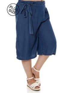 Calca Capcambos Ri Plus Size Cambos Feminina - Feminino-Azul
