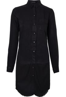 Camisa Petal (Cinza Escuro, G)