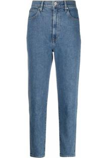 Slvrlake Calça Jeans Skinny Cintura Alta - Azul