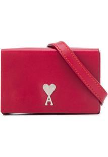 Ami Bolsa Clutch Mini - Vermelho